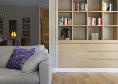 Vrijstaande villa Hilversum nieuwe indeling met meubelmaatwerk