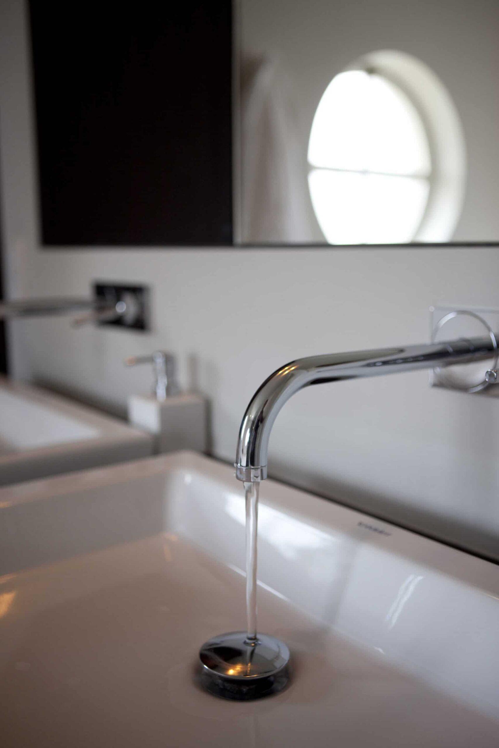 Lopend water badkamer ouders