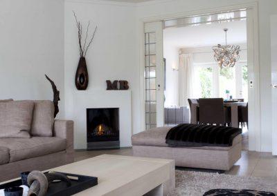 Hilversum woonkamer met gashaard