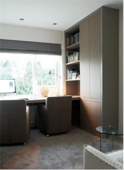 Studeerplek slaapkamer