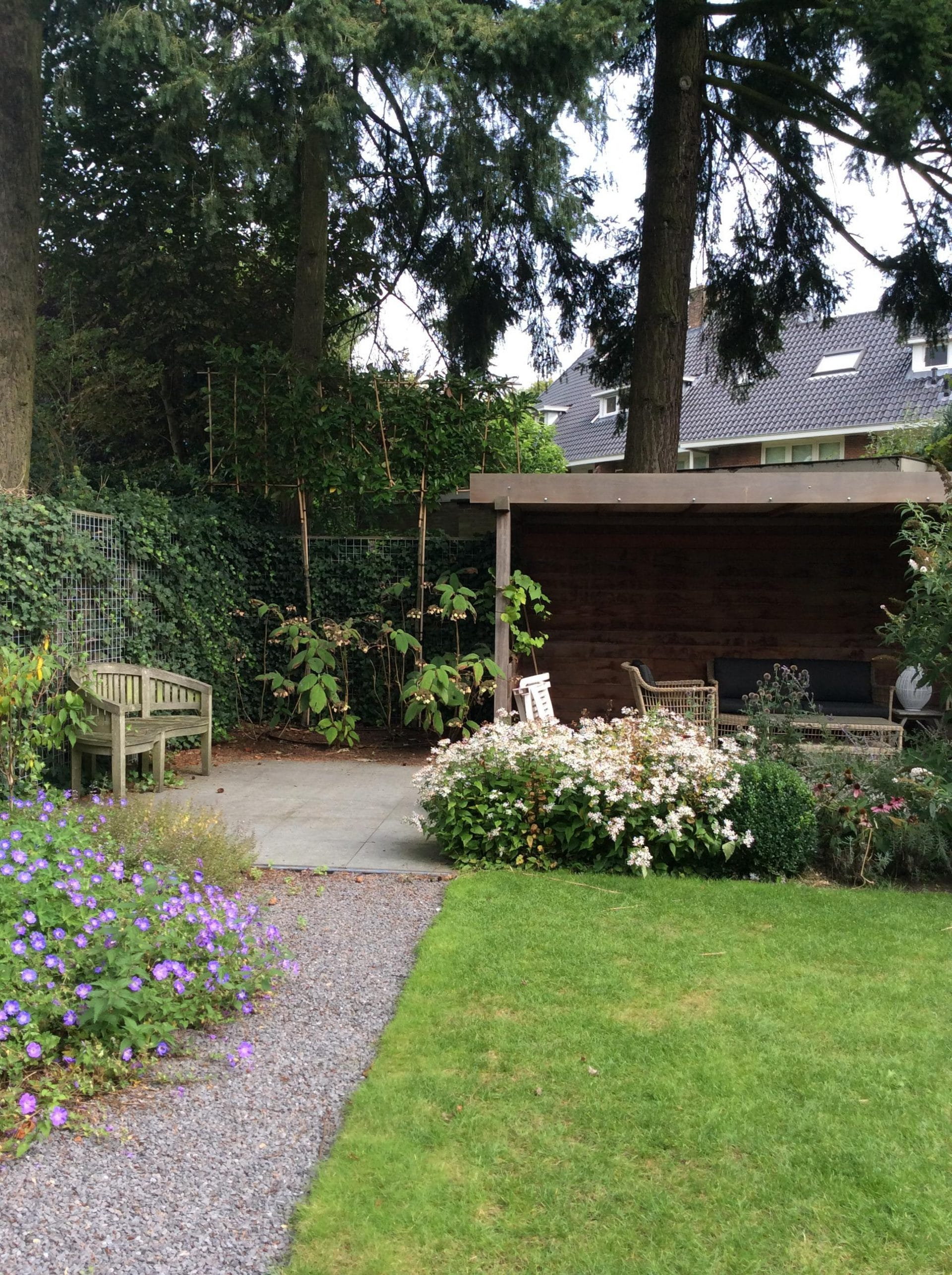Tuinontwerp en buitenkamer