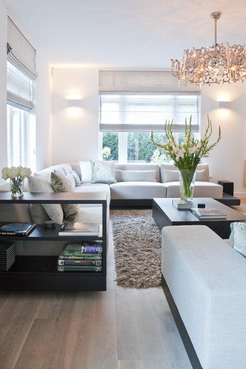 woonkamer hilversum verlichting in vrijstaand woonhuis