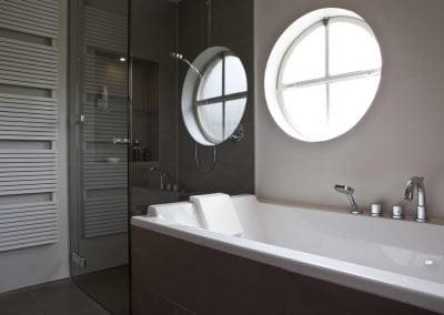 badkamer aansluiting douchewand op bad