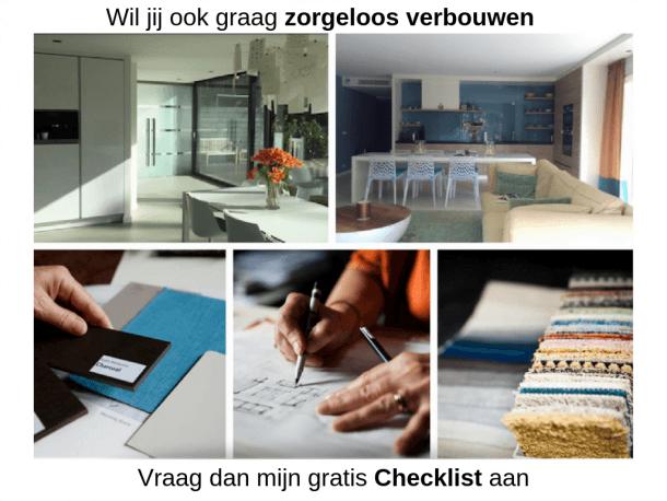 checklist voor zorgeloos verbouwen